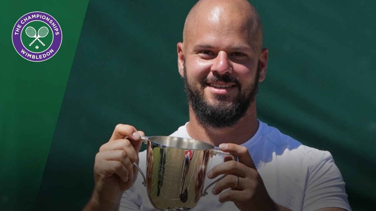 Stefan Olsson wins the men's wheelchair singles title | Wimbledon 2018
