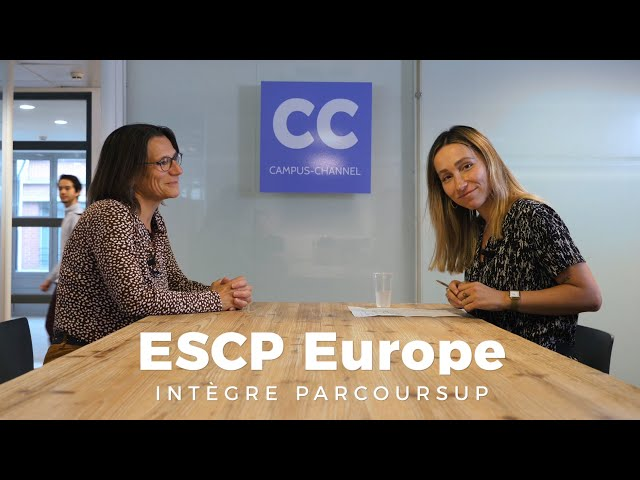 ESCP Business School intègre Parcoursup