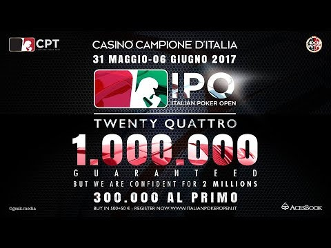 Italian Poker Open 24  - Day 4 -