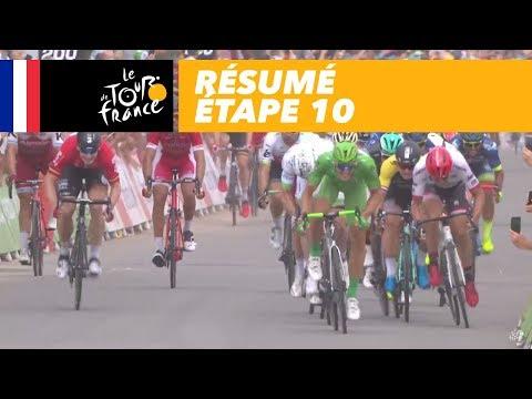 Résumé - Étape 10 - Tour de France 2017
