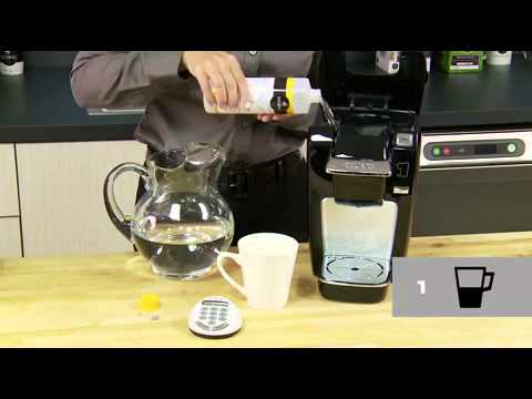 How To Descale Your Keurig Brewer Mini Plus K10 Youtube