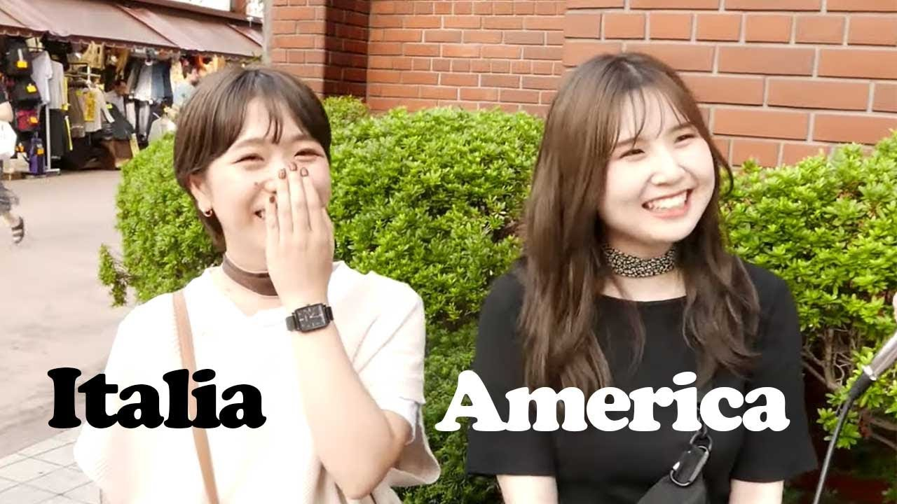 Which nationality Japanese girls would prefer to date and