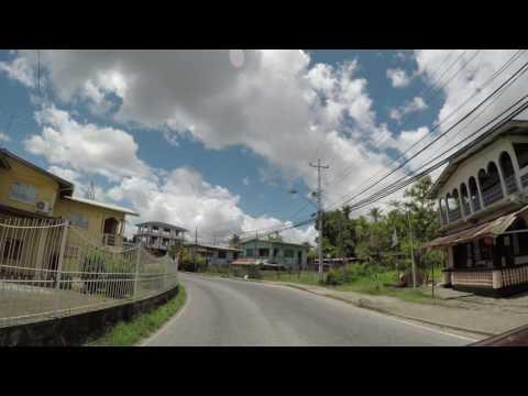 Driving in Trinidad
