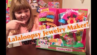 Lalaloopsy Tinies Jewelry Maker Playset Unboxing & Review - #LalaWeek