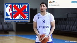 LiAngelo Ball Was Not Invited To The NBA Draft Combine | What's The Next Step?