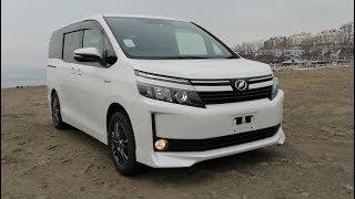 Всё про Toyota Voxy Hybrid 2015 - Реальный расход и состояние. Пробег 124 000 км