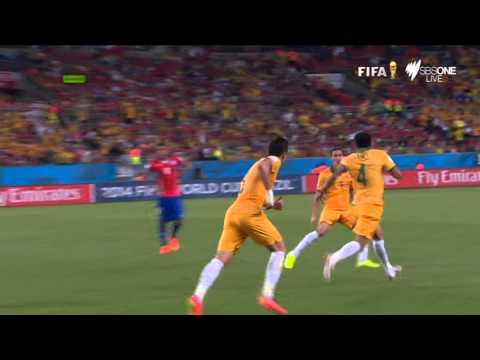 FIFA World Cup 2014: Chile 3 defeat Australia 1