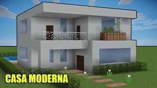 Minecraft Tutorial - Casa Moderna Pequena ‹ Manyzão#2Milhões ›