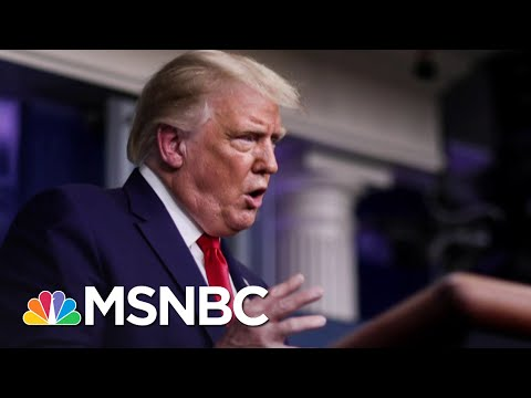Trump: Covid-19 Deaths Are Lower If You Ignore The 'Blue States' | The 11th Hour | MSNBC