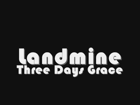 Three Days Grace - Landmine (Lyrics)