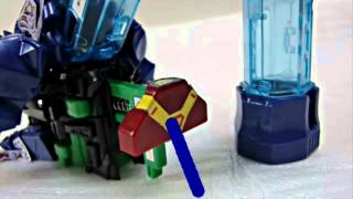 2012年8月4日に発売されたクロスファイトビーダマンの新作の発射パワー...
