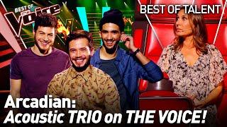 Amazing TRIO SHOCKS The Voice Coaches!