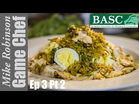 Hot Smoked Trout Kedgeree - A Step By Step Recipe By ITV Game Chef Mike Robinson (Part 2)