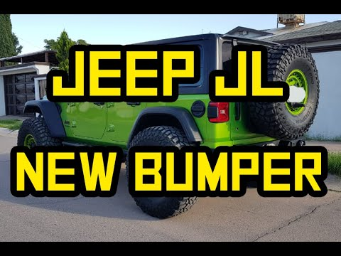 Introducing our NEW Rear Bumper for Jeep JL - Iron Bull Bumpers
