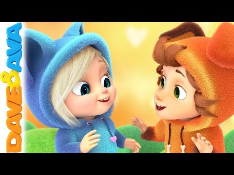 😍 Ba Songs and Nursery Rhymes  Kids Songs  Dave and Ava 😍