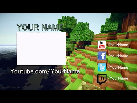 FREE Epic Minecraft Outro Template!