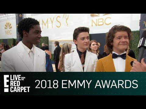 """Stranger Things"" Stars Tease Season 3 at 2018 Emmys 