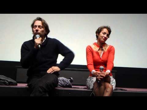 Mathieu Amalric et Jeanne Balibar à la Cinémathèque  17 septembre 2015