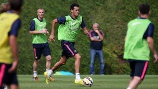 Training session 14/08/2014
