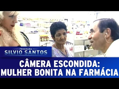 Câmera Escondida (04/09/16) - Mulher bonita na farmácia