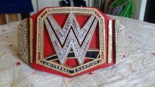 Homemade WWE Universal Championship tutorial