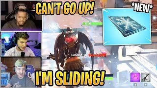 "Streamers First Time Using *NEW* Chiller ""Freeze Trap"" - Fortnite Best and Funny Moments"