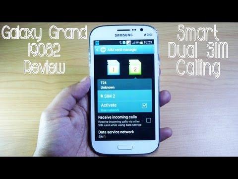 Samsung Galaxy Grand Duos I9082 Dual SIM Calling & 'SMART DUAL SIM' Func. - Gadgets Portal SPECIAL