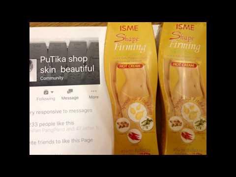 Isme Shape Firming Herbal Cream Body Slimming HOT Cream