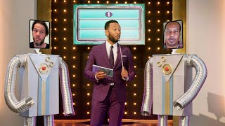 Comedy Dads Play 'Fatherly Feud' with John Legend - John Legend and Family: A Bigger Love Father's D