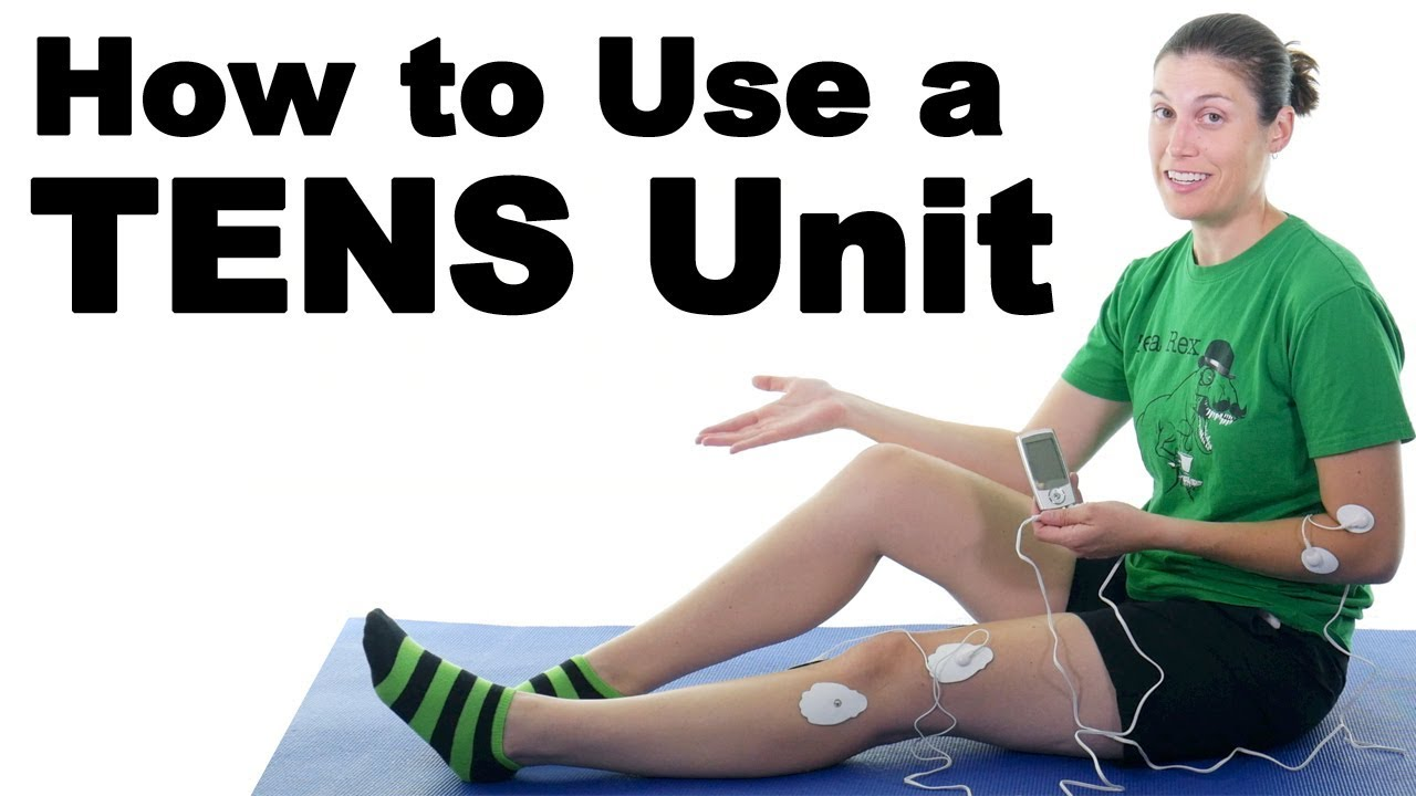 How to Use a TENS Unit for Pain Relief  Ask Doctor Jo