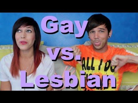 Gay vs Lesbian Relationships