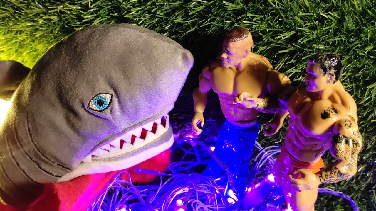 Super Sharkaru on a Holiday - Part 2    Stories with Toys