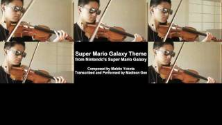 Super Mario Galaxy Theme [Violin Cover]