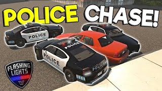 MULTIPLAYER POLICE CHASE & FIRE FIGHTING! - Flashing Lights Multiplayer Gameplay - Police Simulator