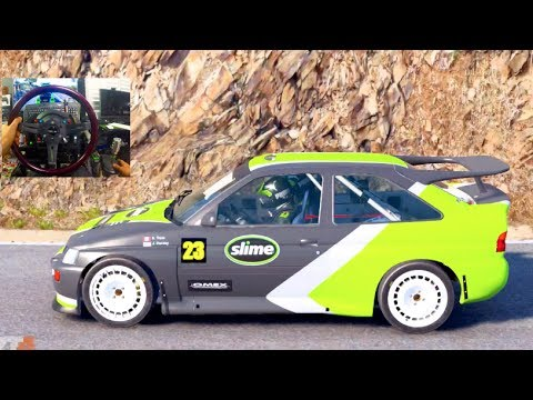 DIRT4 GoPro Career LP - UPGRADES / Driving Ford Escort RS Cosworth!