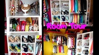 [ ROOM TOUR ] Mon dressing + Mes Rangements Make-Up / My dressing room + My make-up storage