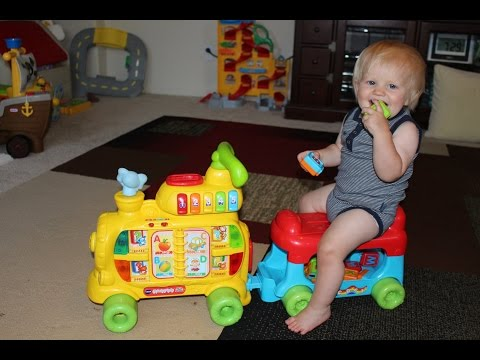 Thumbnail: VTech Sit-to-Stand Alphabet Train Playtime Review