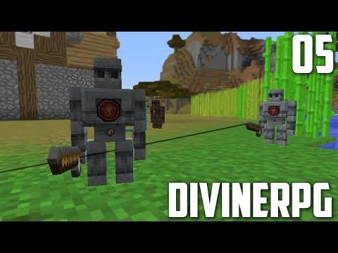 ГОЛЕМ-РЫБОЛОВ | #05 | Divine RPG 1.7.10