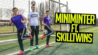 INSANE FOOTBALL TRICKS FT. SKILLTWINS