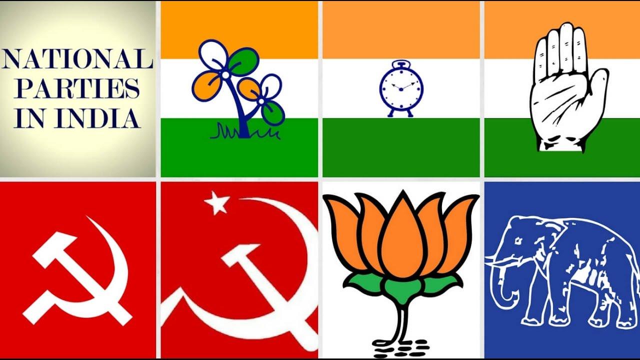 National Parties Of India 2016 Youtube