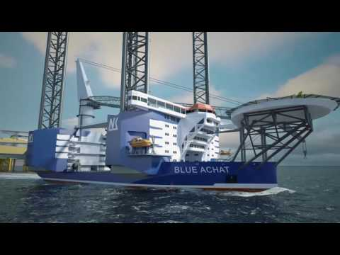 Wind Farm Service Vessel BLUE ACHAT