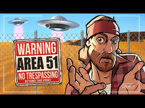 RAIDING AREA 51 LIVE!! (GTA San Andreas)