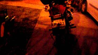 Balizas led Luxeon 3 watts para motos de emergencia