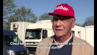 Niki Lauda reflexiona sobre 'Rush'
