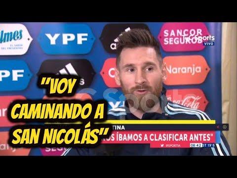Messi y Aguero con TyC Sports [ENTREVISTA COMPLETA] - Como nunca lo viste