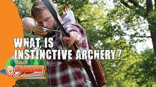 What is Instinctive archery?