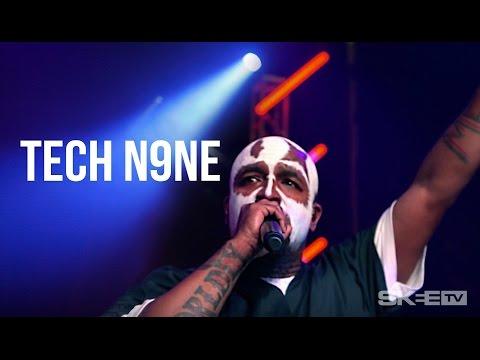 "Tech N9ne ""Hood Go Crazy"" Live on SKEE TV (Debut Television Performance)"