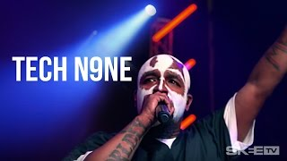 "Tech N9ne ""Hood Go Crazy"" Live on SKEE TV (Debut Television Performance)"