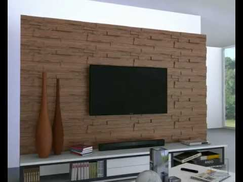 Installation Video For Wall Tiles Made Of Wood Dune