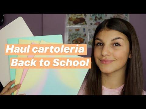 Haul cartoleria |Back to school| Valeria Martinelli